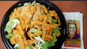 McDonald's Southwest grilled chicken salad.