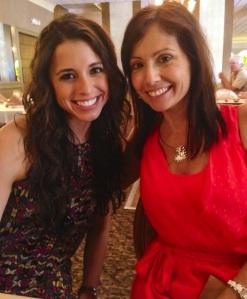 My namesake, Alison Valerie and me!