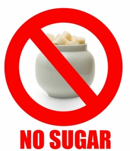And by no sugar I mean all things that you eat that turn to sugar in your body!