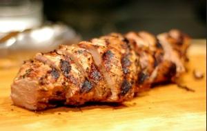Yummy pork tenderloin!
