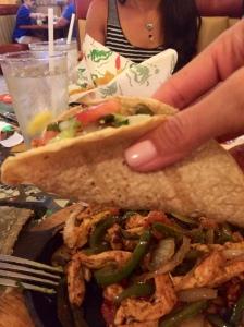 Eat ONE taco, not twelve!