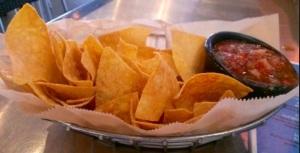 Big basket of chips= Danger Zone!