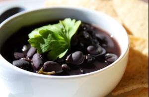Choose black beans!