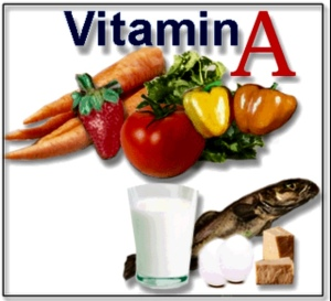 Great sources of Vitamin A!