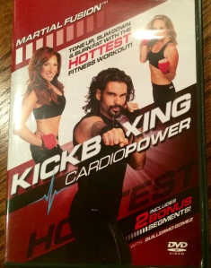 This is my current favorite- Kickboxing Cardio Power with Sensei Guillermo Gomez- love!!!
