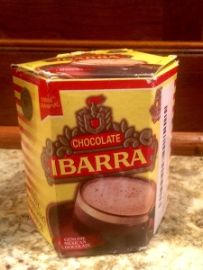 I use Mexican hot chocolate bricks to impart sweetness into my coffee!