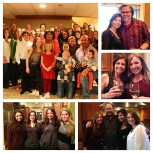 Most of my clan at Thanksgiving last year!