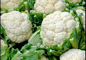 Crunchy cauliflower!