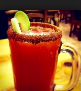 Michelada- a recently tasted cocktail and a good one too!