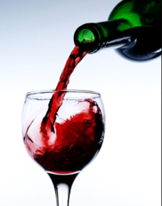 Number one healthiest alcoholic drink and my personal favorite- WINE!
