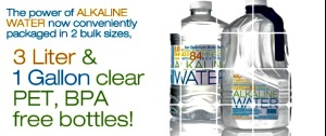 Alkaline water is a great way to hydrate in the winter!