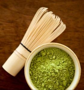 Isn't Matcha a beautiful color?! Full of antioxidants too!