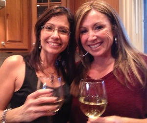 A good glass of wine makes everything fine- Thanksgiving 2013!
