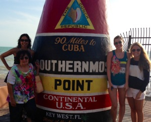 Recent family trip to Key West- good times in a beautiful place!