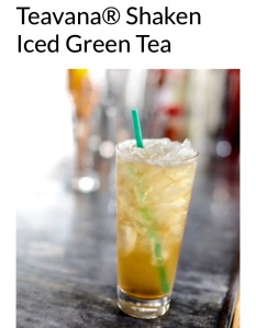 Iced green tea is good for whatever ails you!