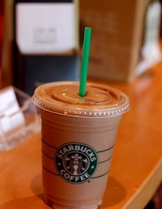 Chocolate smoothie with protein!