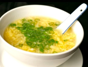 The always flavorful and healthy Egg Drop Soup!