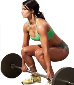 That will be me-as soon as my weights are delivered!