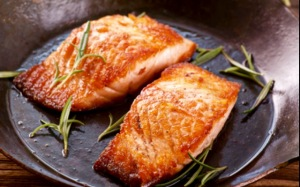 Rainbow trout is another excellent source of Omega 3's- and it tastes good too!